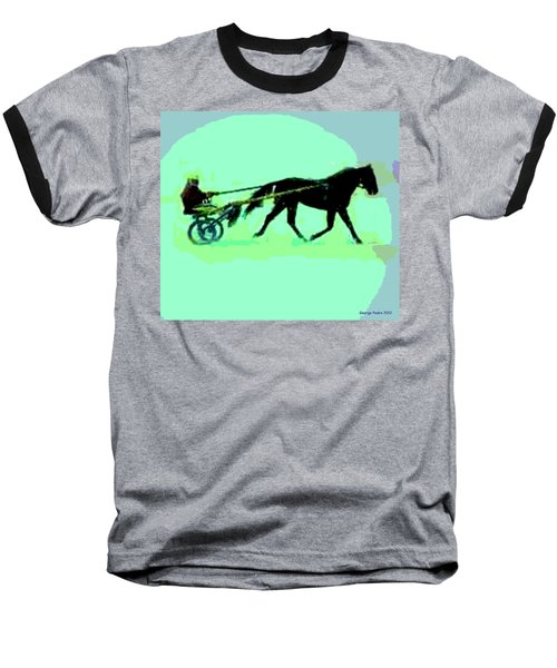 Baseball T-Shirt featuring the photograph Trotter by George Pedro