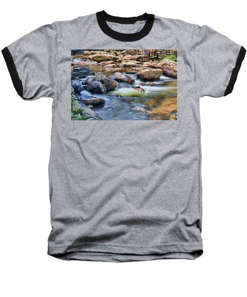 Trout Stream Baseball T-Shirt