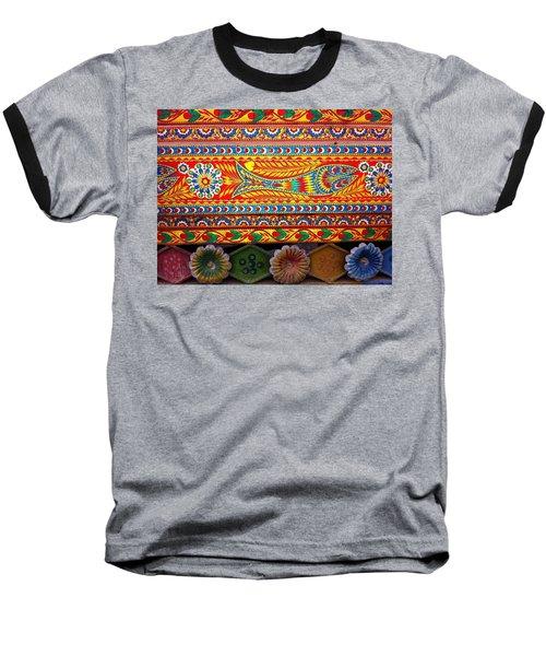 Truck Art Detail Baseball T-Shirt