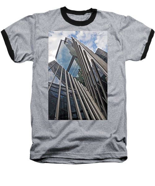 Trylon Towers Baseball T-Shirt