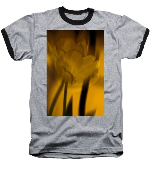 Baseball T-Shirt featuring the photograph Tulip Abstract by Ed Gleichman