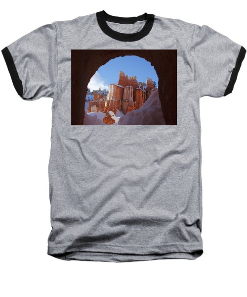 Tunnel In The Rock Baseball T-Shirt