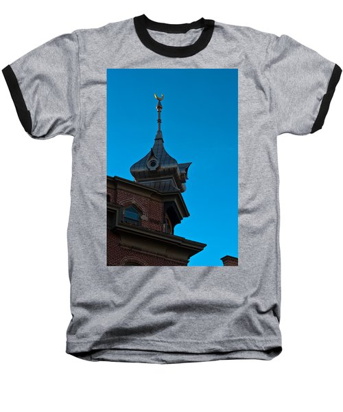 Baseball T-Shirt featuring the photograph Turret At Tampa Bay Hotel by Ed Gleichman