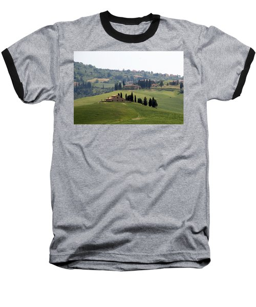 Baseball T-Shirt featuring the photograph Tuscany by Carla Parris