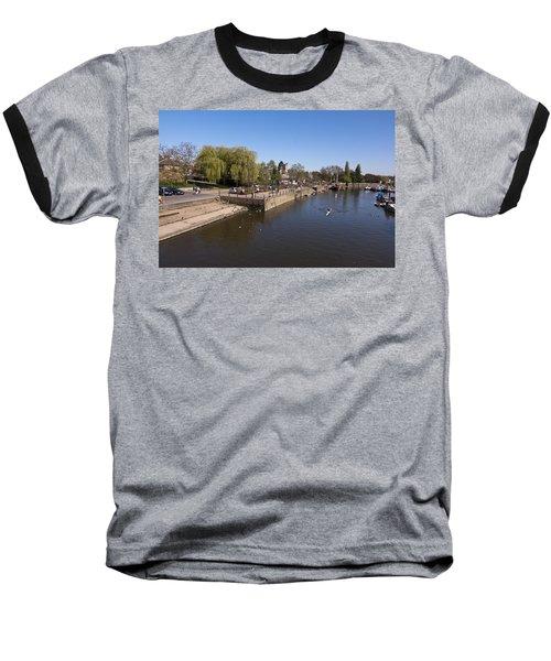 Baseball T-Shirt featuring the photograph Twickenham On Thames by Maj Seda
