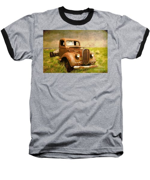 Two Ton Truck Baseball T-Shirt by Alyce Taylor
