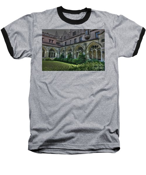 U Of C Grounds Baseball T-Shirt by David Bearden