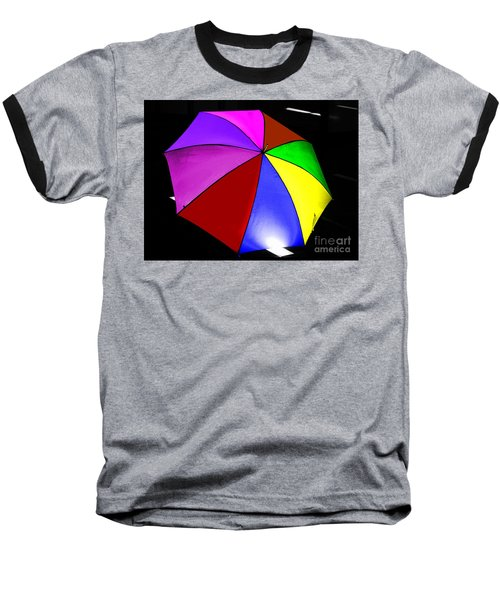 Baseball T-Shirt featuring the photograph Umbrella by Blair Stuart