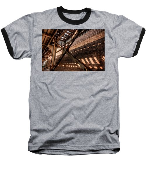 Under The L Tracks Baseball T-Shirt