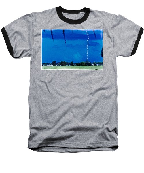 Baseball T-Shirt featuring the photograph Underneath- My Fears by Janie Johnson