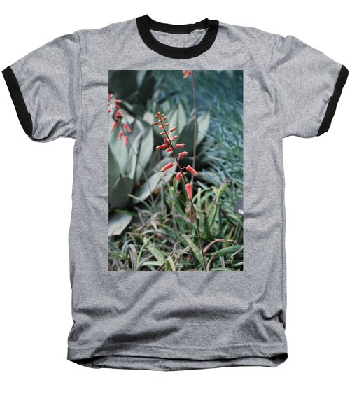 Baseball T-Shirt featuring the photograph Unique Flower by Jennifer Ancker