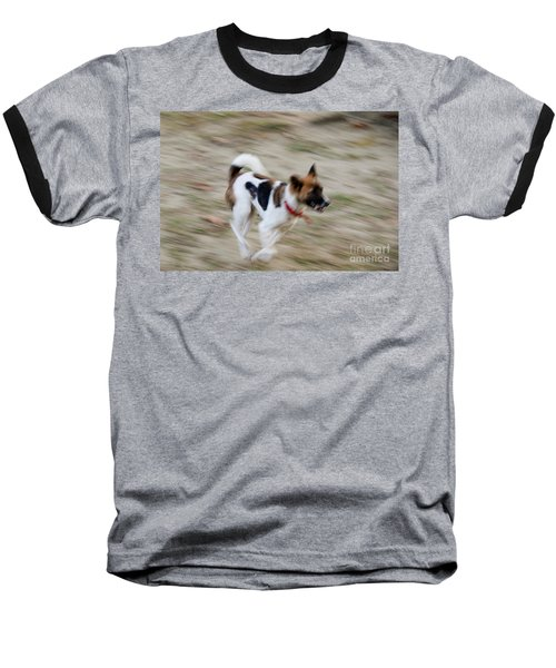 Baseball T-Shirt featuring the photograph Unleashed by Fotosas Photography