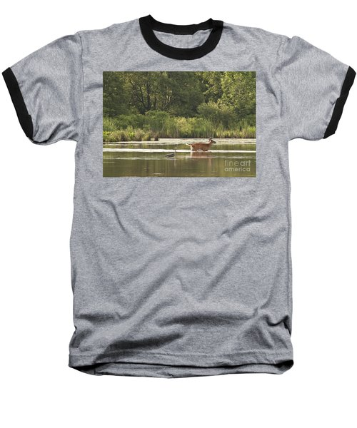 Unusual Pair  Baseball T-Shirt by Jeannette Hunt