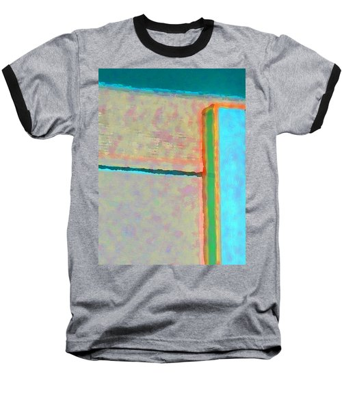 Baseball T-Shirt featuring the digital art Up And Over by Richard Laeton