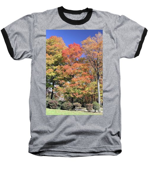 Upj Campus Autumn  Baseball T-Shirt
