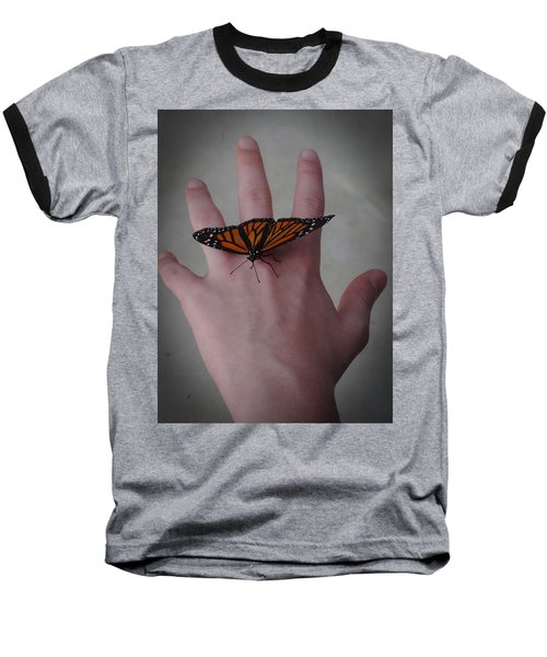 Baseball T-Shirt featuring the photograph Upon My Hand by Julia Wilcox