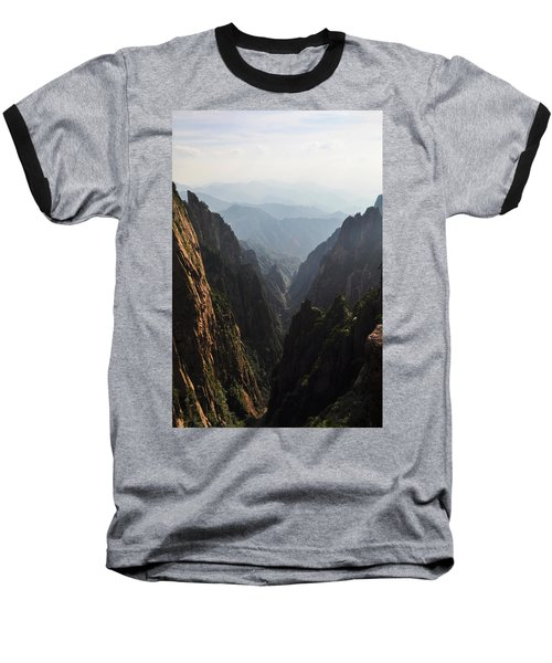 Valley In Huangshan Baseball T-Shirt