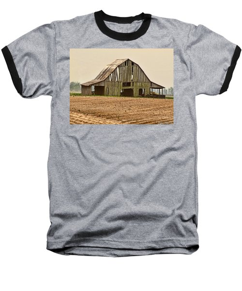 Baseball T-Shirt featuring the photograph Vanishing American Icon by Debbie Portwood