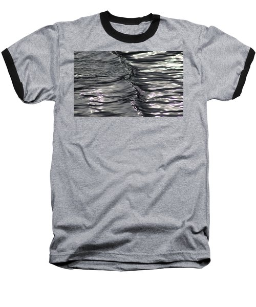 Velvet Ripple Baseball T-Shirt by Cathie Douglas