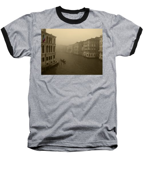 Baseball T-Shirt featuring the photograph Venice by David Gleeson