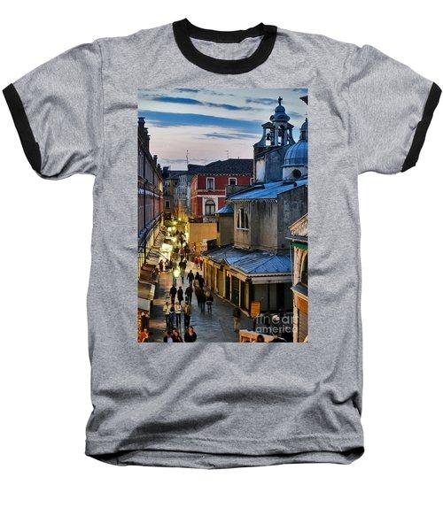 Venice From Ponte Di Rialto Baseball T-Shirt