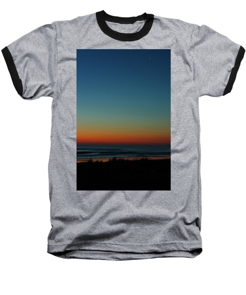 Venus And Atlantic Before Sunrise Baseball T-Shirt
