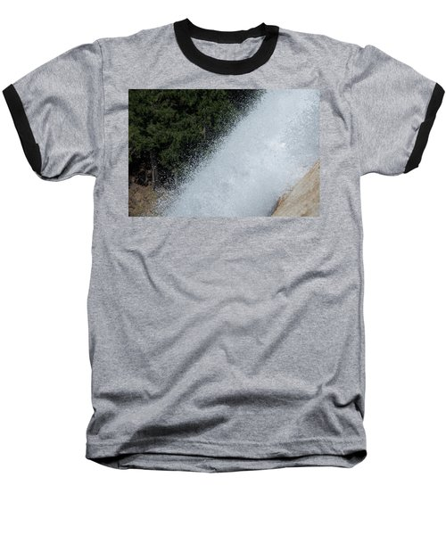 Vernal Falls On The Mist Trail At Yosemite Np Baseball T-Shirt