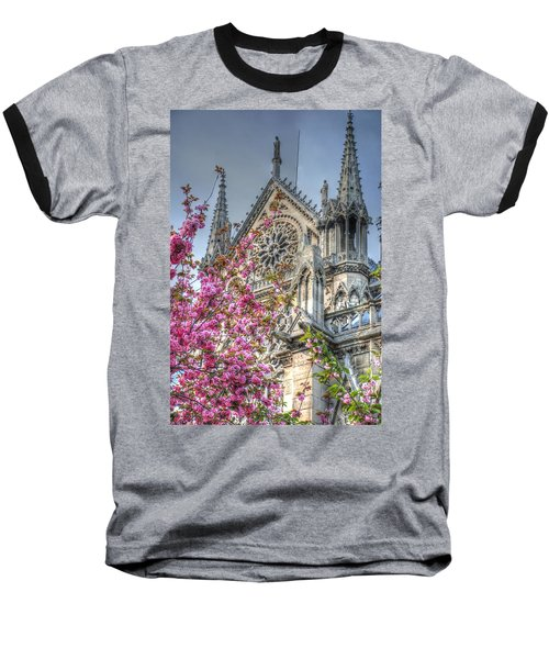 Baseball T-Shirt featuring the photograph Vibrant Cathedral by Jennifer Ancker