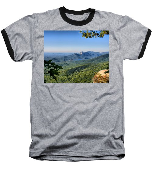 Baseball T-Shirt featuring the photograph View From Caesar's Head by Lynne Jenkins