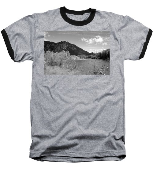 Baseball T-Shirt featuring the photograph View From The River by Kathleen Grace