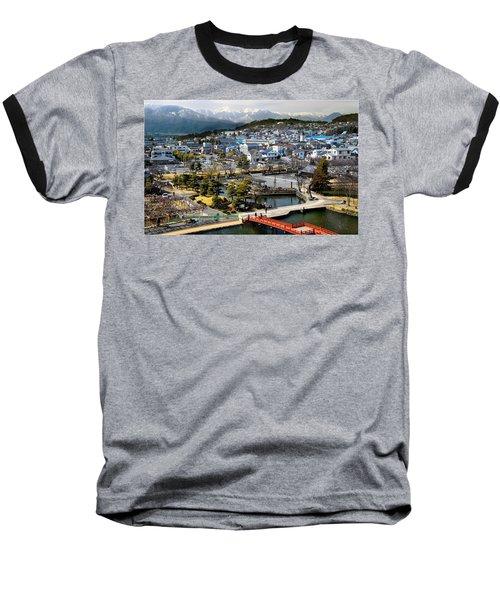 View Fromthe Top Baseball T-Shirt