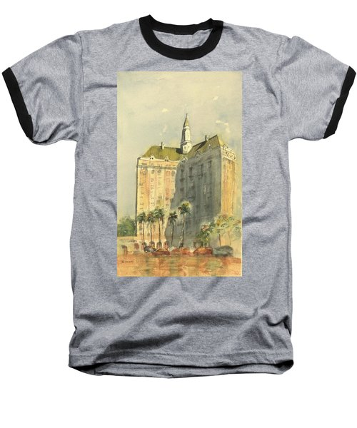 Villa Riviera Another View Baseball T-Shirt