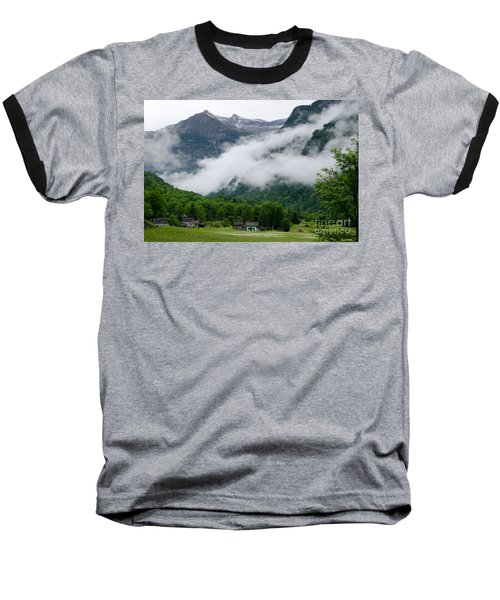 Village In The Alps Baseball T-Shirt