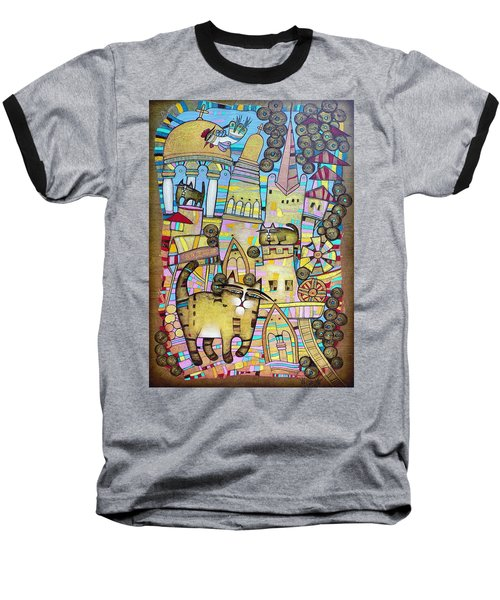 Villages Of My Childhood Baseball T-Shirt