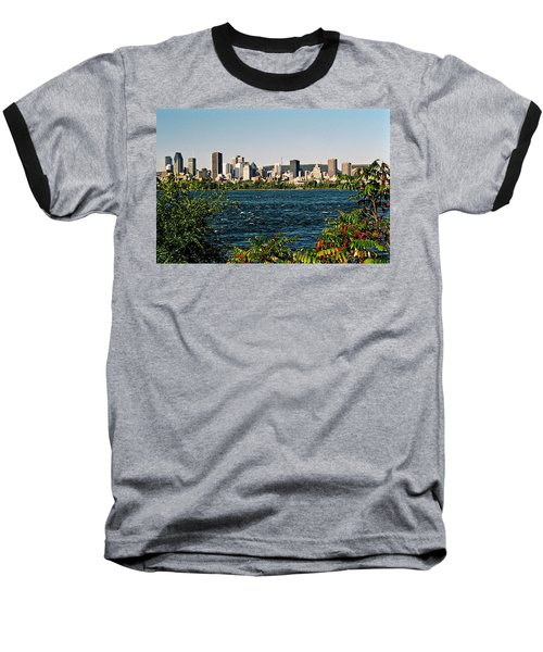 Baseball T-Shirt featuring the photograph Ville De Montreal by Juergen Weiss
