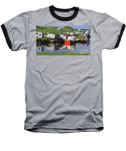 Baseball T-Shirt featuring the photograph Villiage by Lydia Holly