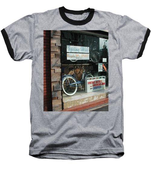 Vintage Bicycle And American Junk  Baseball T-Shirt
