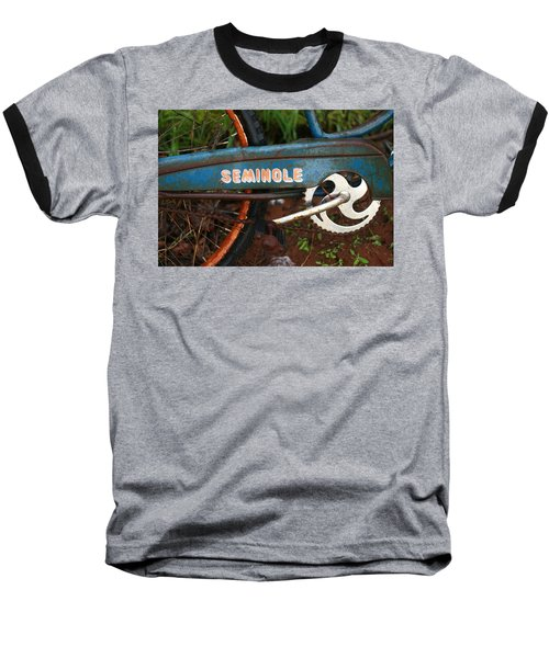 Hiawatha Seminole Vintage Bicycle Baseball T-Shirt