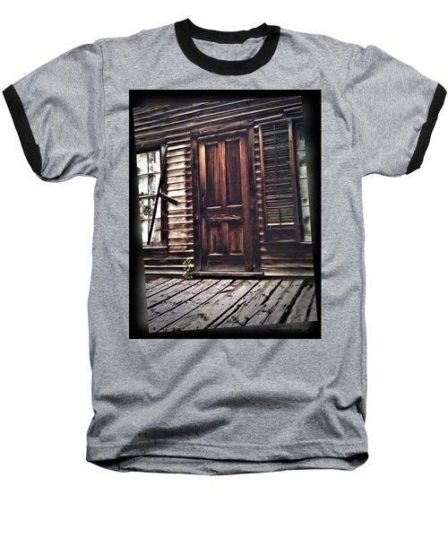 Virginia City Ghost Town Door I Baseball T-Shirt