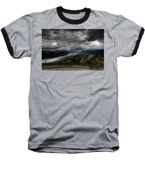 Vista House View Baseball T-Shirt