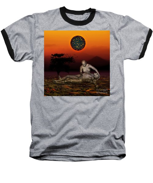 Volcanos Pieta Baseball T-Shirt