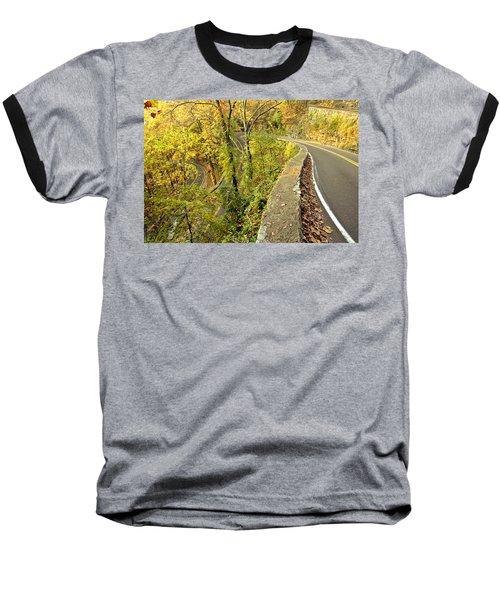 W Road In Autumn Baseball T-Shirt
