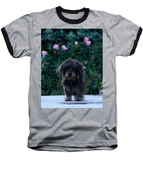 Baseball T-Shirt featuring the photograph Waiting by Lainie Wrightson