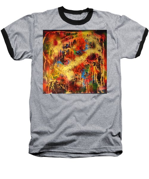 Walk Through The Fire Baseball T-Shirt