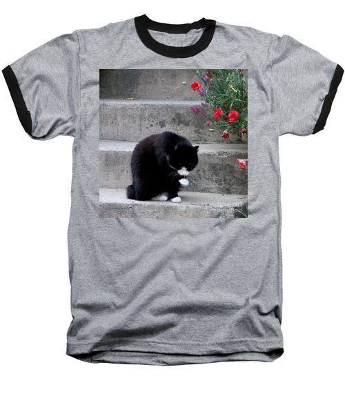 Baseball T-Shirt featuring the photograph Washing Up by Lainie Wrightson