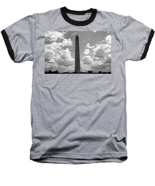 Washington Landmark Baseball T-Shirt