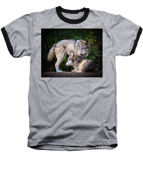Baseball T-Shirt featuring the photograph Watching Over by Steve McKinzie