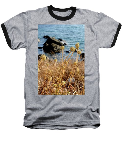 Baseball T-Shirt featuring the photograph Watching The Sea 2 by Pedro Cardona