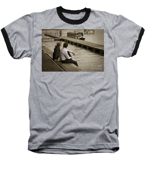 Watching The World Go By Baseball T-Shirt