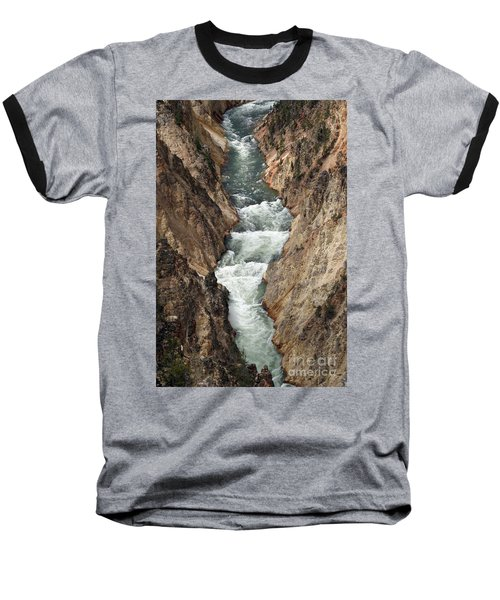 Water And Rock Baseball T-Shirt by Living Color Photography Lorraine Lynch